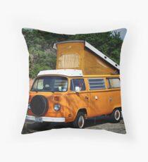 VW Westfalia Throw Pillow