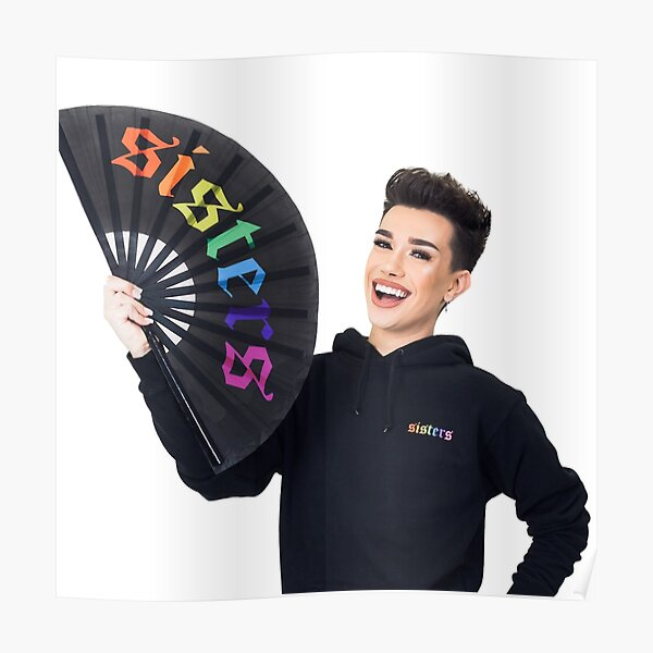 James Charles Rainbow Sisters Merch Poster