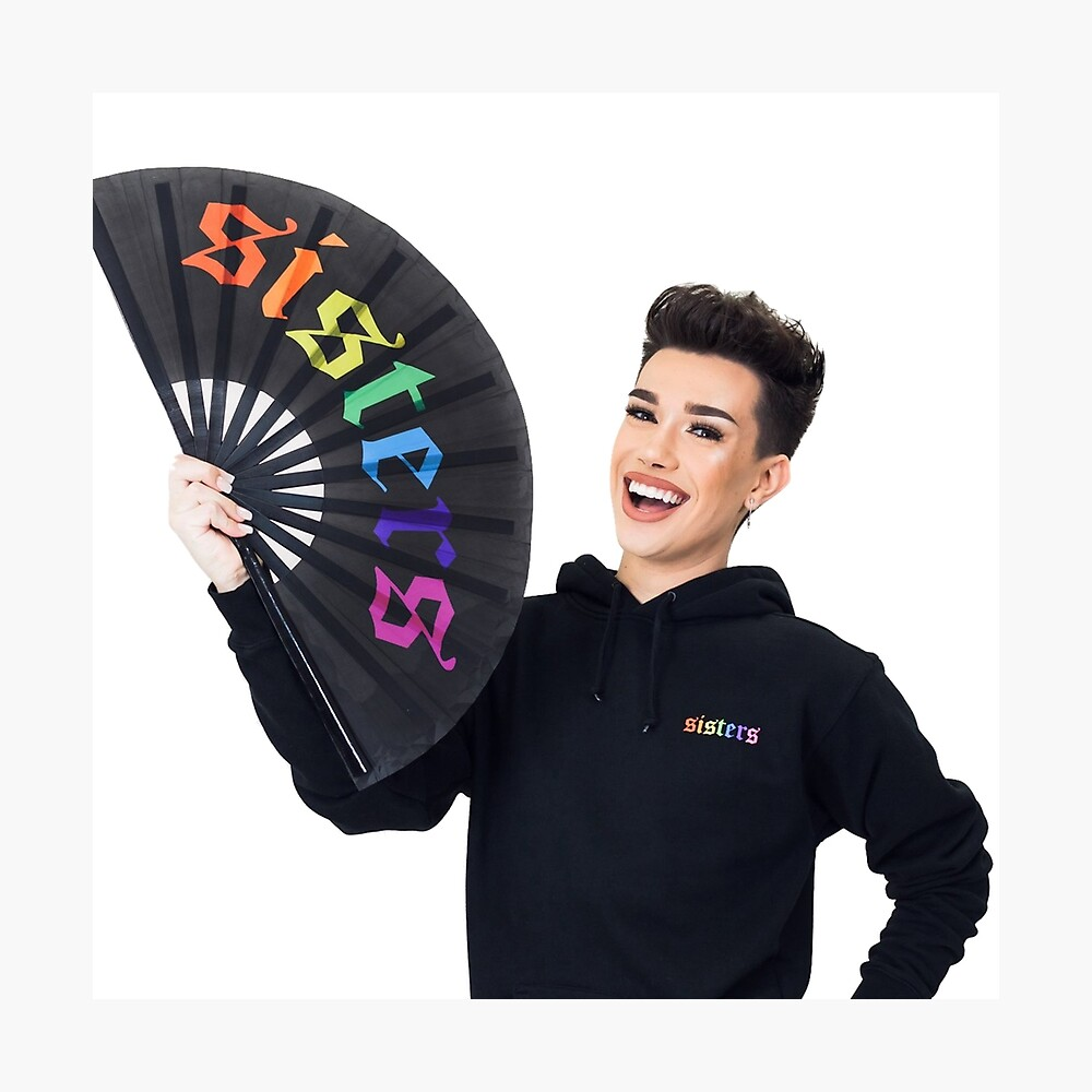 James Charles Rainbow Sisters Merch Fotodruck