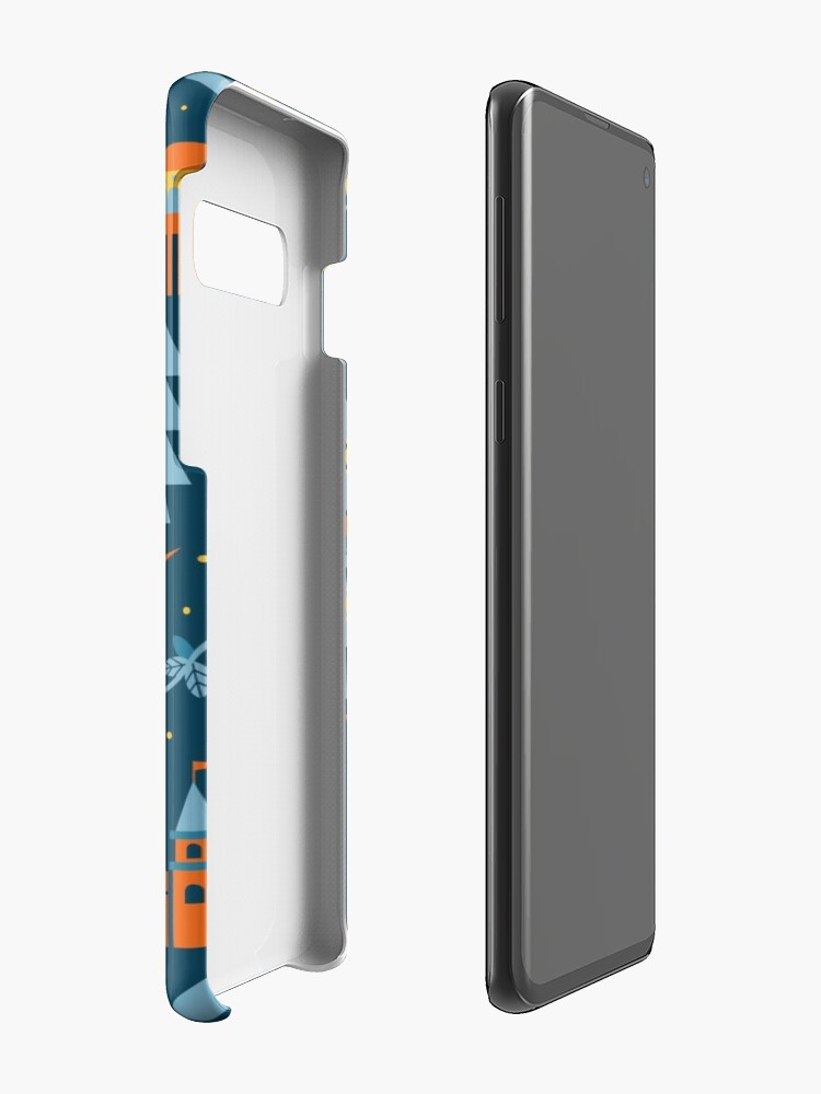 Alternative Ansicht von Märchen in Blau + Orange Hüllen & Klebefolien für Samsung Galaxy