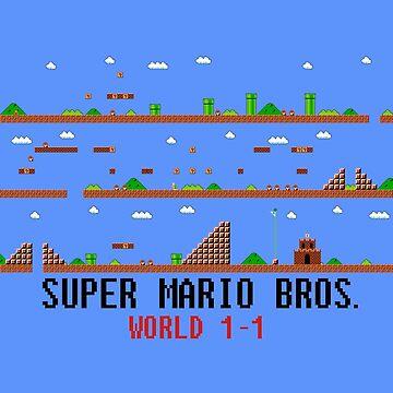 Super Mario Bros. World 1-1 by LagginPotato64