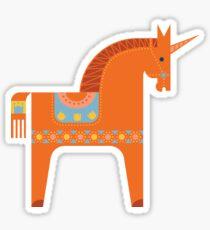 Märchen in Blau + Orange Sticker
