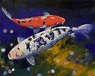 Bekko Koi Fish by Michael Creese