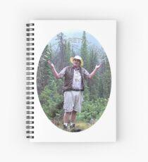 Cuaderno de espiral Etiqueta engomada del paseo de Neature