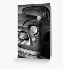 Heavy Hauler in it's Day Greeting Card