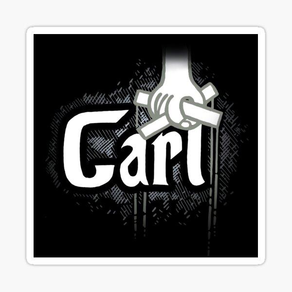 Carl - Survivor Parody Shirt Sticker