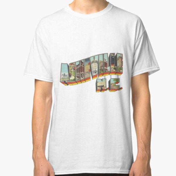Big Letter Asheville North Carolina - Vintage Classic T-Shirt