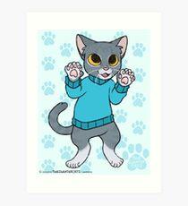 thesweatercats - Asher Art Print