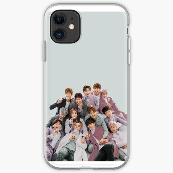SEVENTEEN kpop pastel ot13 iPhone Soft Case