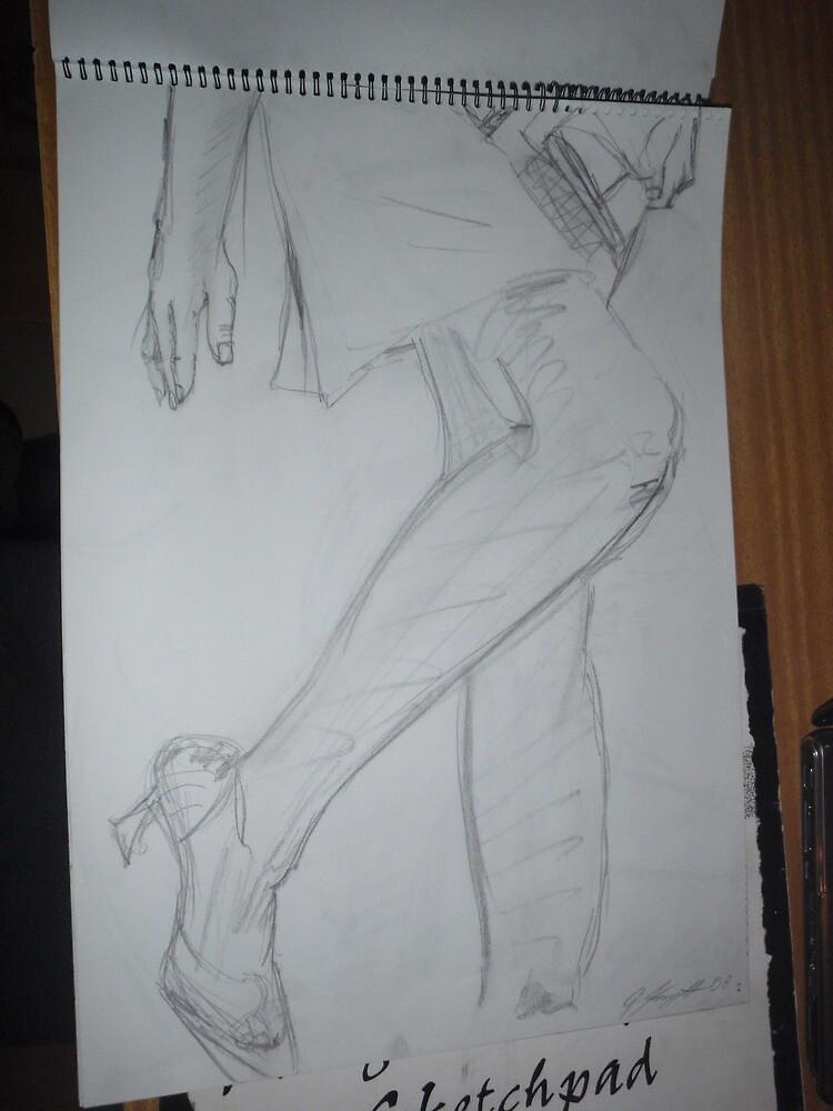 great legs 11 by geoffsartstudio