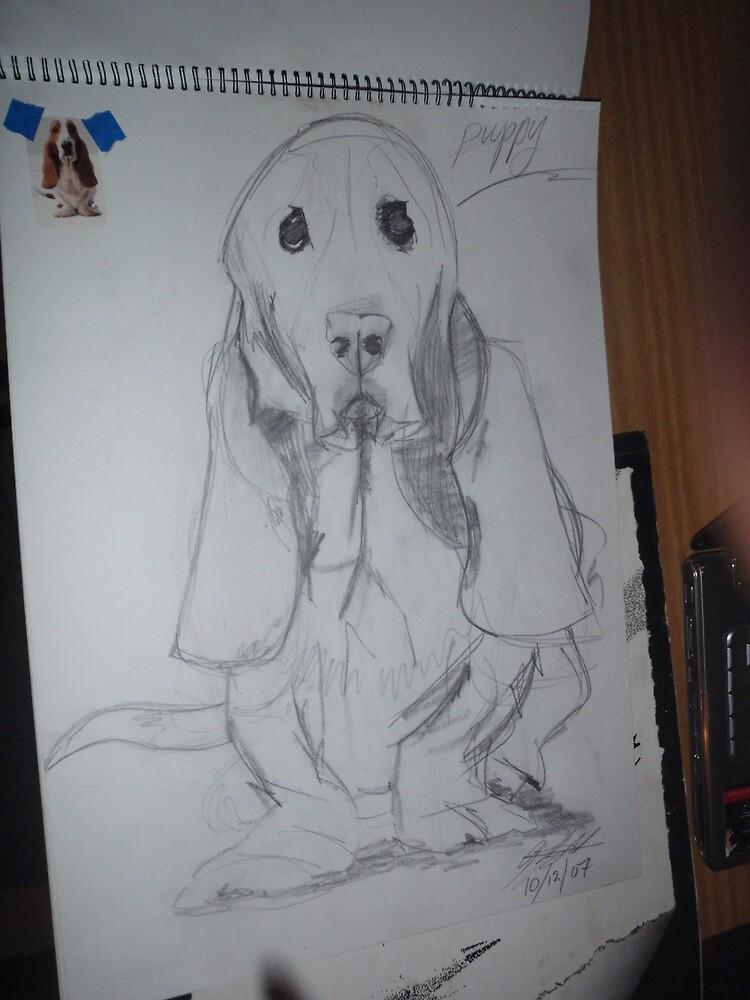 little puppy 2 by geoffsartstudio