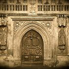 Bath Abbey in Somerset by Kent Burton