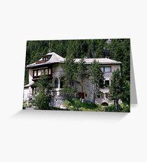 Maloja - Grisons - Swiss Greeting Card