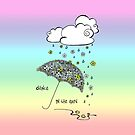 Dance in the rain by Rhana Griffin