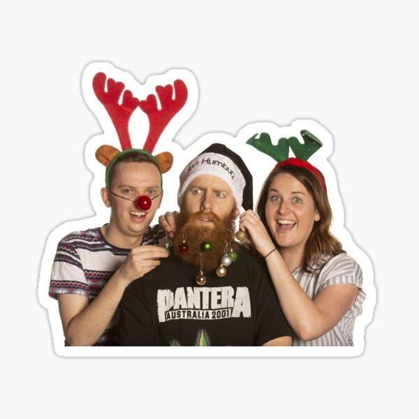 Do Go On Christmas! Sticker