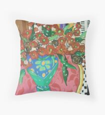 """"""" Red gums and Romance"""" Throw Pillow"""