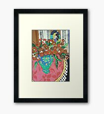 """ Red gums and Romance"" Framed Print"