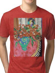 """ Red gums and Romance"" Tri-blend T-Shirt"