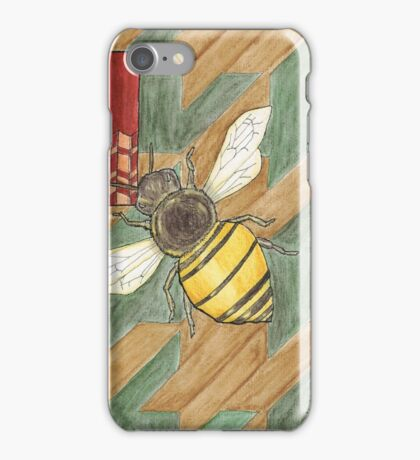 H is for Honey Bee iPhone Case/Skin