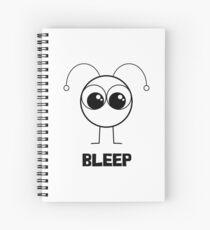 Bleep Boy Spiral Notebook
