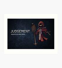Judgement - Character Card Art Print