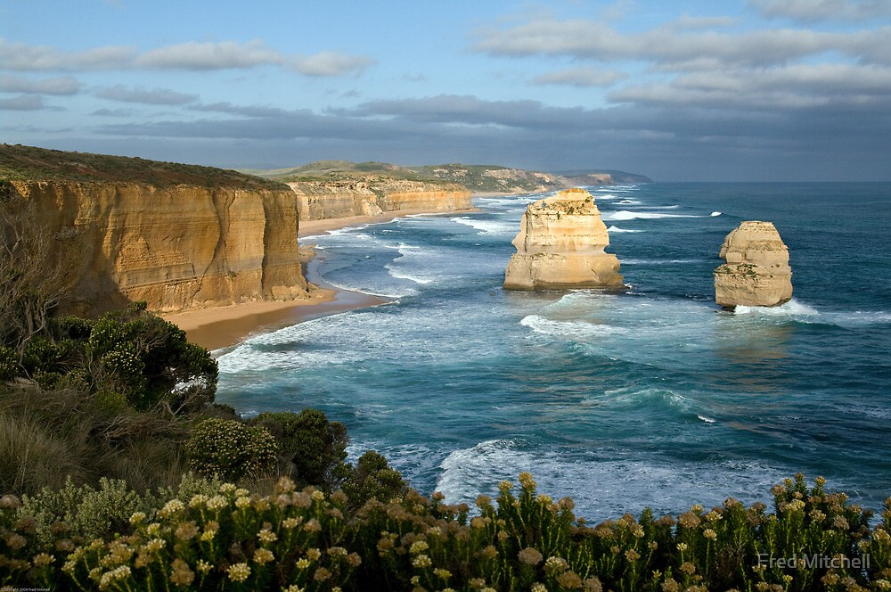 To East of 12 Apostles 20080422 0025 by Fred Mitchell