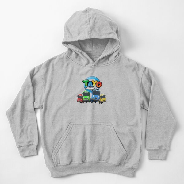 Tayo and Friends Kids Pullover Hoodie