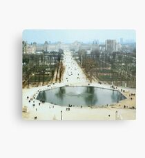 FROM LA ROUE DE PARIS ON BOXING DAY Metal Print