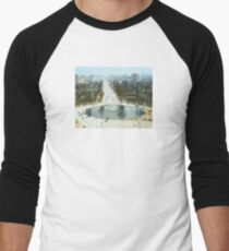 FROM LA ROUE DE PARIS ON BOXING DAY Baseball ¾ Sleeve T-Shirt
