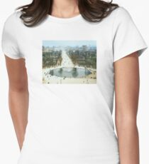 FROM LA ROUE DE PARIS ON BOXING DAY Fitted T-Shirt