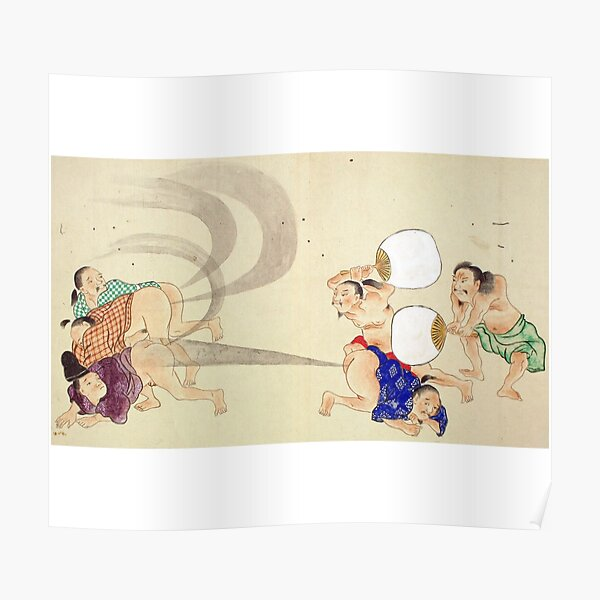 Traditional Japanese Art Fart Poster