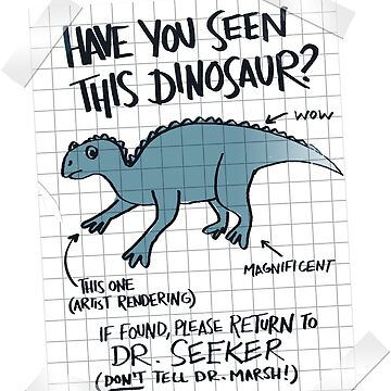 Lost Iguanodon! by alihilker