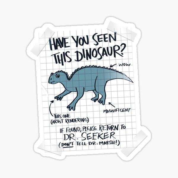 Lost Iguanodon! Sticker