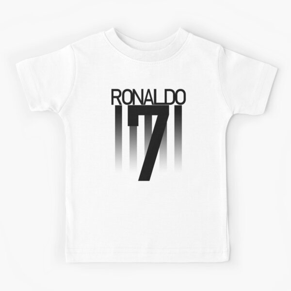 Ronaldo Juventus Football Numéro 7 T-shirt enfant