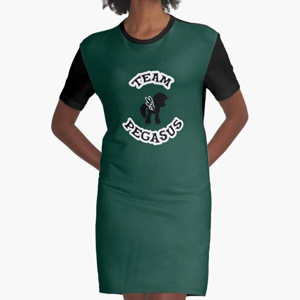 Team Pegasus Graphic T-Shirt Dress