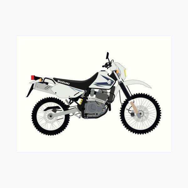 DR650 Motorcycle Art Print