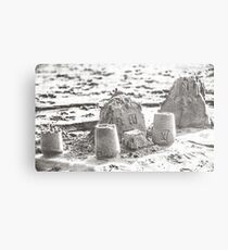 SANDSCAPE (Dillon Beach, California) Metal Print
