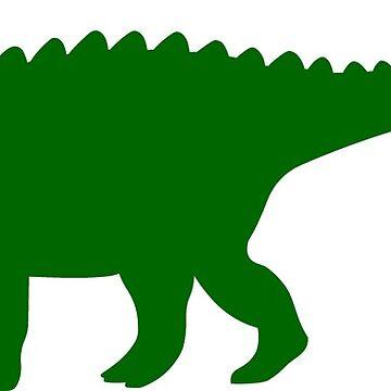 Ankylosaurus Dinosaur by sweetsixty