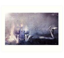 Dreams of a Scorpion Heart Art Print