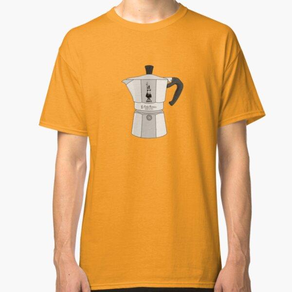 Bialetti Coffee Metal Moka Pot Classic T-Shirt