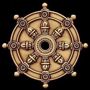 Wheel Of Dharma by Bluto