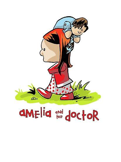 Amelia and the Doctor by Douggiedoo