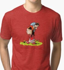 Amelia and the Doctor Tri-blend T-Shirt