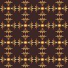 Retro Floral pretty pattern by Stellagala