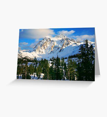 Shuksan Winter Greeting Card