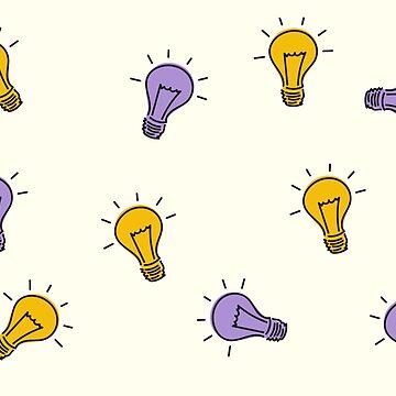 Light bulbs pattern by TheMaker