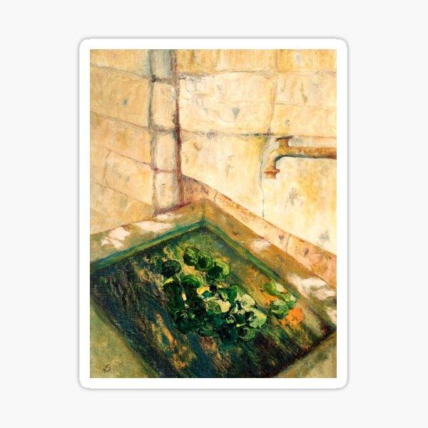 Tuscan Water Garden Sticker