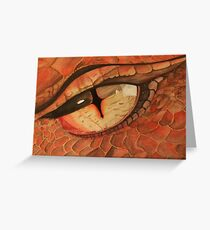 Smaug The Dragon Greeting Card