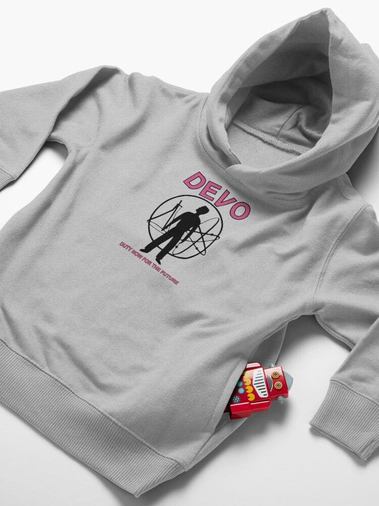 Alternate view of Devo: Duty Now For The Future Toddler Pullover Hoodie