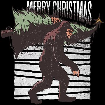 Big Foot Merry Christmas by lifestyleswag
